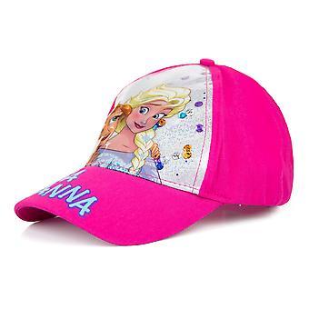 المجمدة الأطفال / الفتيات إلسا وآنا الترتر قبعة البيسبول