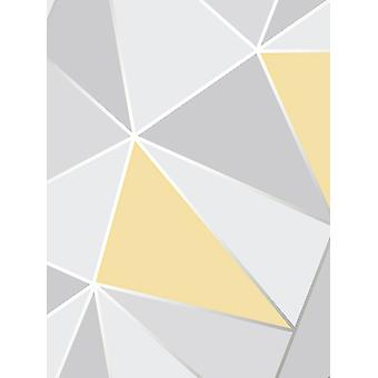 Apex Geometric Wallpaper Fine Decor