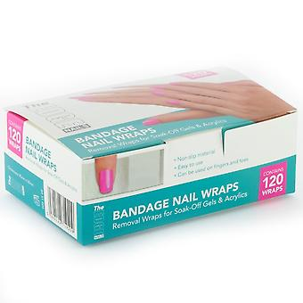 The Edge Nails Professional Nail Wraps - Bandage Nail Wraps Soak-Off Gel (2011006)