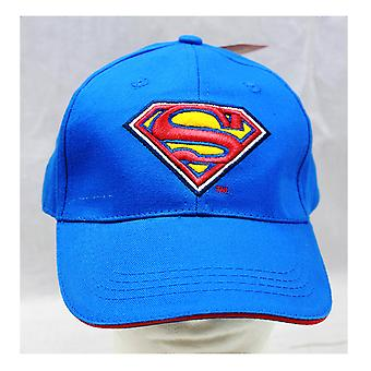 Baseball Cap - DC Comics - Superman - Blue with Logo Kids New SM1032