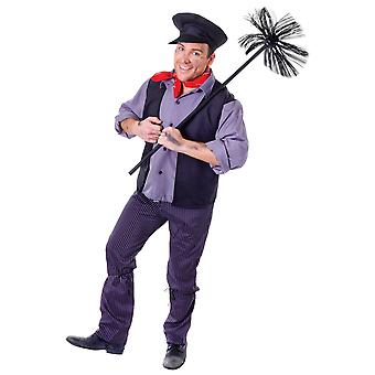 Bristol Novelty Unisex Chimney Sweep Traje