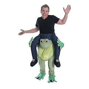 Bristol Novelty Unisex Adults Frog Piggy Back Costume