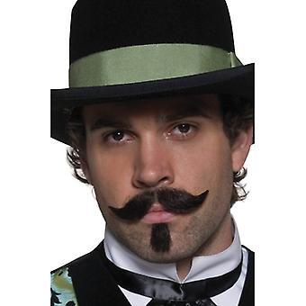 Smiffy's Authentic Western Gambler Moustache