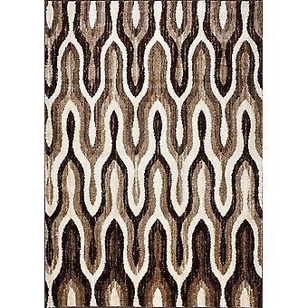 Design matta av högsta kvalite Light brown/ Dark Brown