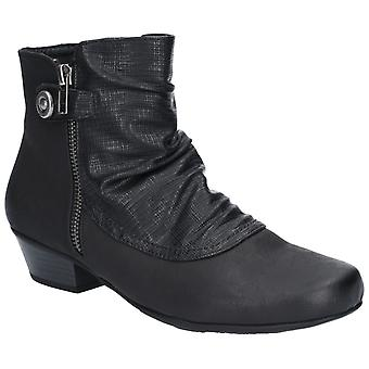 Fleet & Foster Womens Jordie Zip Boot Black