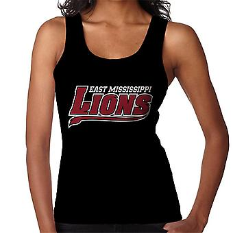 East Mississippi Community College Lions Tail Logo Women's Vest