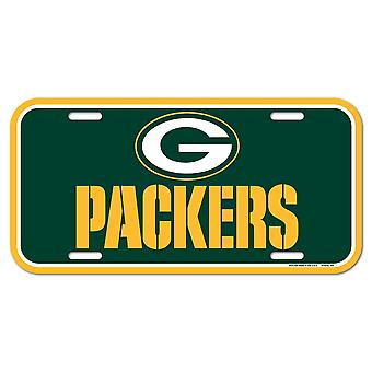 Wincraft NFL registreringsskylt-Green Bay Packers