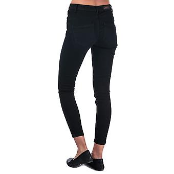 Womens Only Daisy Push Up Skinny Ankle Jeans in schwarz.