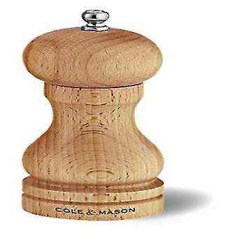 Cole & mason haya cabrestante molino de pimienta 120 Mm precisión (cocina, utensilios de cocina, estante de especia)