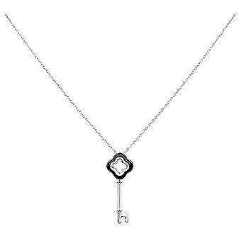 Ceranity Woman 925 Silver White Zirconium Oxide FASHIONNECKLACEBRACELETANKLET 1-72/0065-N