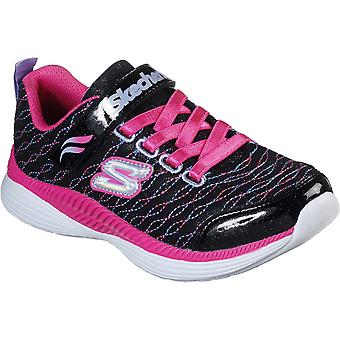 Skechers Girls Move'N Groove-Sparkle Spinner Trainers Shoes