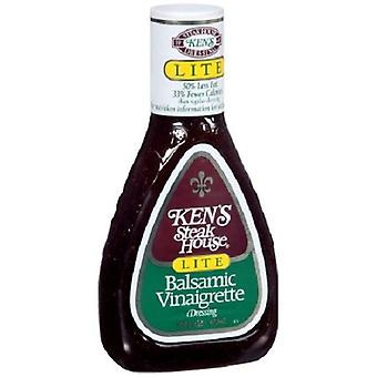 Ken's Steak House Lite Balsamic Vinaigrette Dressing