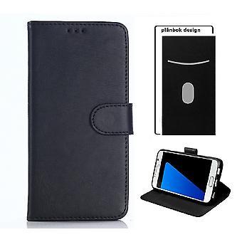 Sony Xperia E4 - Mobil tegnebog i case – sort