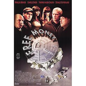 Gratis pengar (1998) original Cinema affisch