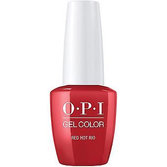 OPI GelColor Gel Color - Soak Off Gel Polish - Red Hot Rio 15ml (GC A70)