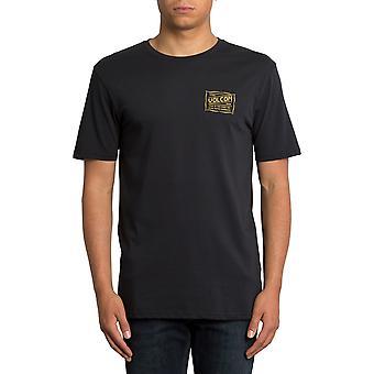 Volcom Road Test Short Sleeve T-Shirt in Black