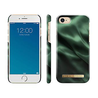 iDeal Ruotsin iPhone 8/7/6/SE (2020) Shell - Emerald Satiini