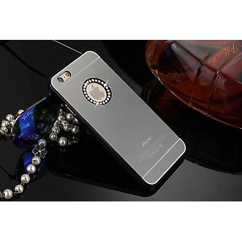 IPhone 6 / 6S 4.7 Luxury Mirrored Shell Protection Case Black