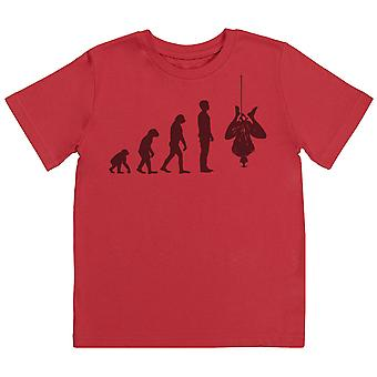Evolution To Spider Man - T-Shirt per bambini