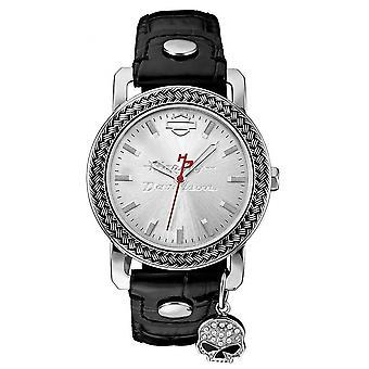 Harley Davidson 76L173 Women's Willie G Charm Wristwatch
