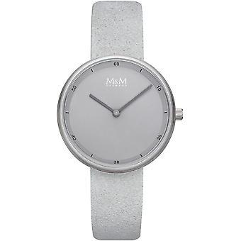 M & M Germany M11955-828 Minutes Ladies Watch