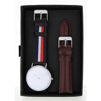 Black Oak BX58904SET-138 - watch leather Blue Man