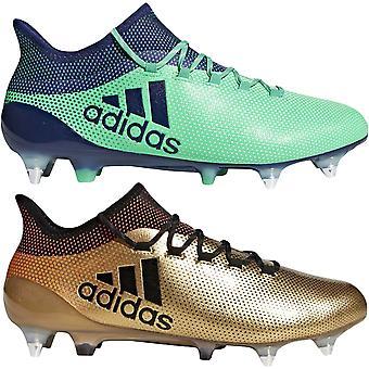 adidas Performance Mens X 17.1 Soft Ground Sports Football Training Boots