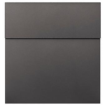 MOCAVI Box 570 Design brevlåda antracit järn strimma (DB 703)