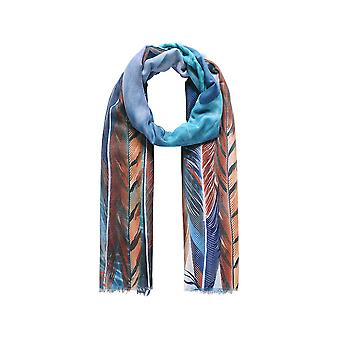 Intrigue Womens/Ladies Bird Feather Print Scarf