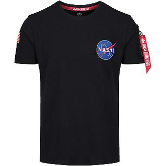 Οι βιομηχανίες άλφα βαρύ T-shirt μαύρο 60