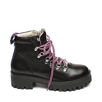 Steve Madden Boomer dames leren Boots zwart