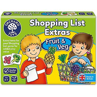 Orchard Toys Shopping lista Extras