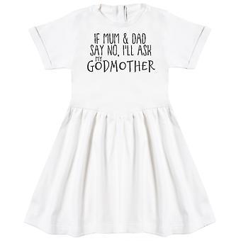 Si maman et papa disent non, je demande à ma robe de bébé GodMother