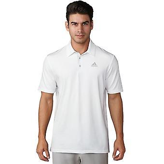 Adidas Golf Herre Ultimate365 hvid logo Polo skjorte