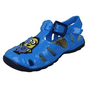 Gutter grusomme meg Jelly sandaler DM2 gummi Badge
