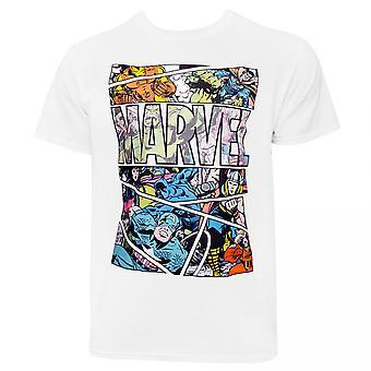 Marvel Comic Panel T-Shirt