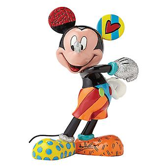 Britto Disney Mickey Mouse Cheerful Figurine (Medium)