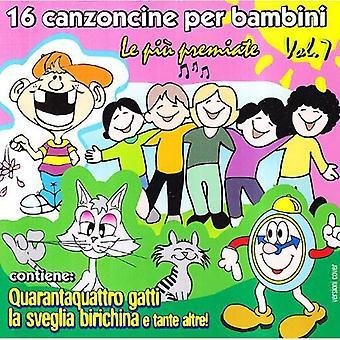 16 Canzoni Per Bambini 7-16 Canzoni Per Bambini 7 [CD] USA import