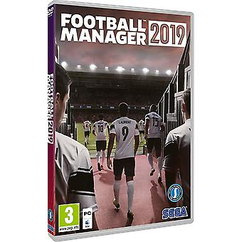 Football Manager 2019 PC CD Game