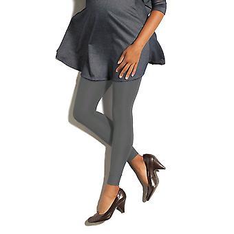 Therafirm Preggers Maternity Support Leggings [Style DP5] Coal (Grey)  S
