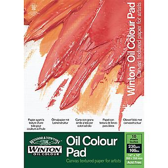 "Winsor & Newton Winton Oil Colour Paper Pad 14 x 10"""