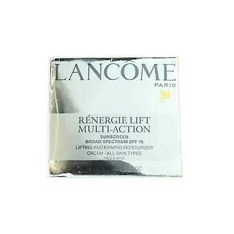 Lancome Renergie Lift Multi-Action SPF15 Cream Face & Neck 1.7oz/50g New In Box