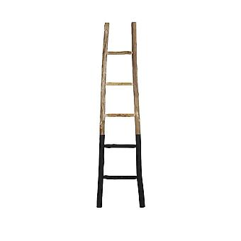 Light & Living Decorative Ladder 42x4x180cm Sten Black