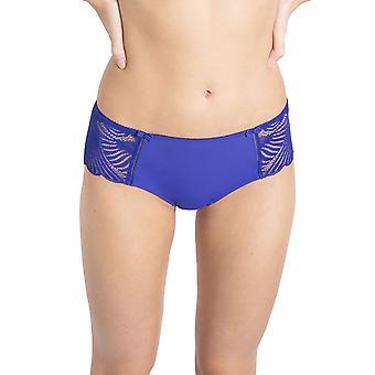 Variance 07834-027 Women's Promesse Indigo Blue Lace Boyshort