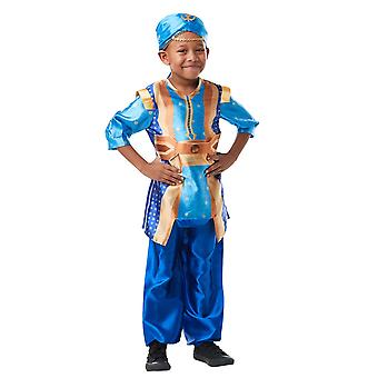 Genie Aladdin Disney Live-Action Movie Arabian Book Week Child Boys Costume