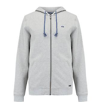 Animal clothing men's bedrock full zip hoodie grey 103