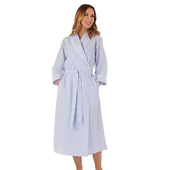 Slenderella HC55228 ženy ' s pruhované rúcho obliekanie