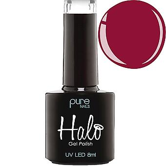 Halo Gel Nails LED/UV Halo Gel Polish Collection - Blood Red 8ml (N2804)