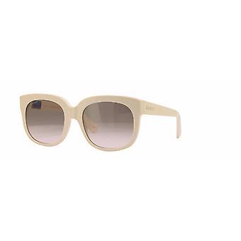 Gucci GG0361S 001 Norsunluu/ruskea kaltevuus aurinkolasit