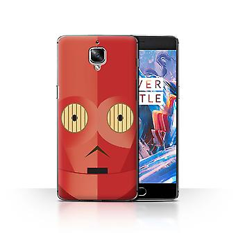 STUFF4 Case/Cover for OnePlus 3/3T/Red R Series/Protocol Droid
